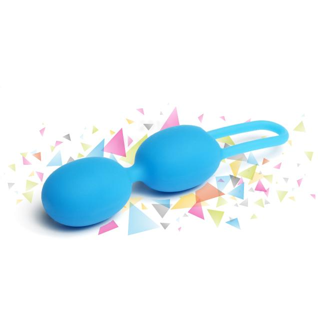 Tickler Vibes - Trainer Toyfriend Double Cyan Blue